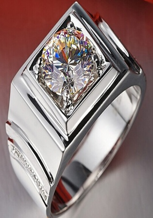 2 carat clarity vs1 color j cut diamond 14k aj rings for men