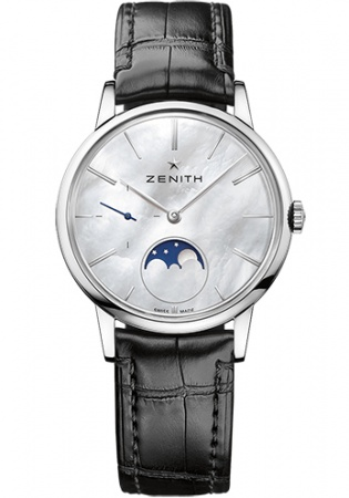 Zenith class elite moonphase men's automatic watch 03.2320.692/80.c714