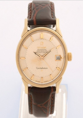 Omega constellation pie pan automatic cal.561 gold capped