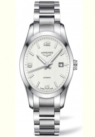 Longines conquest automatic men's watch swiss made