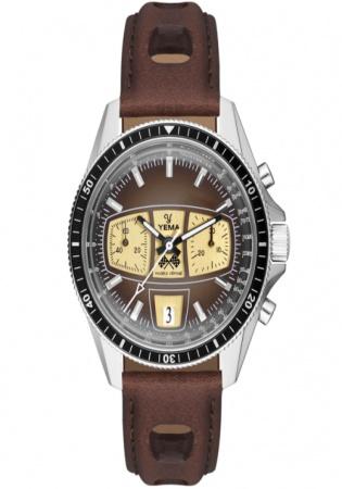 Yema rallygraf henritage chrono automatic watch
