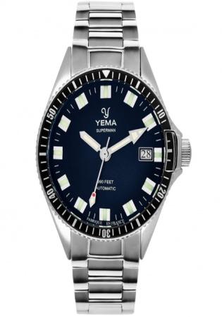 Yema superman mysterious automatic watch