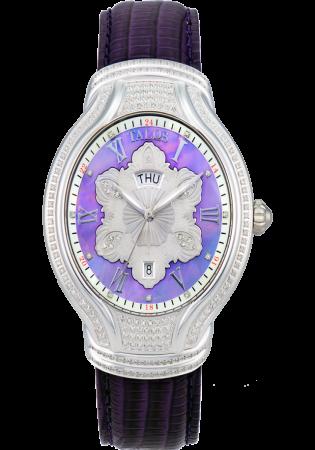Talos 2161-02 full diamond dress watch