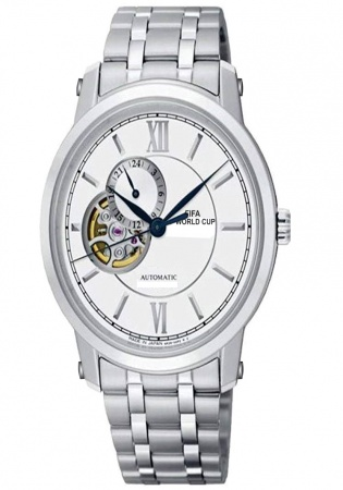 Fifa world cup e. 2004 automatic watch stainless steel by accutron
