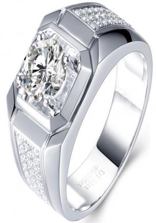 Milan & ruby pinky luxury band 14k diamond men' ring mrj handmade 1168940