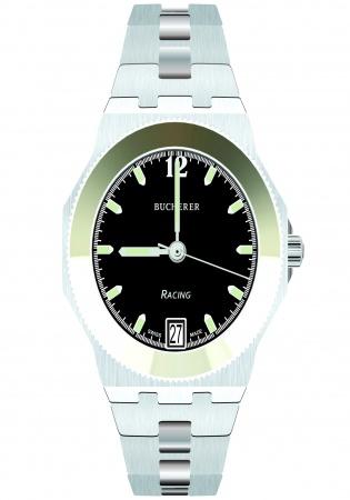 Bucherer racing switzerland quartz 955.069