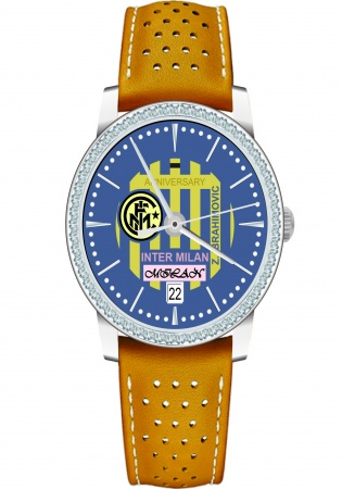 Milan ruby ss automatic mrl0216s dial football clubs of serie a modified design