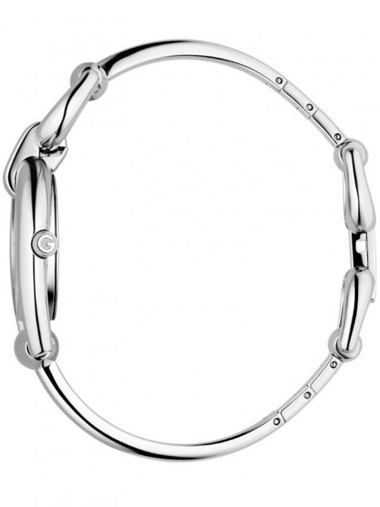 Horsebit ss diamond set bangle ladies watch ya139504 H0