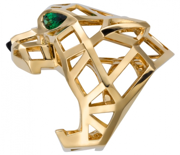 cartier mens panther ring