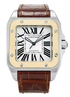 Cartier santos 100 w20072x7 automatic watch H0