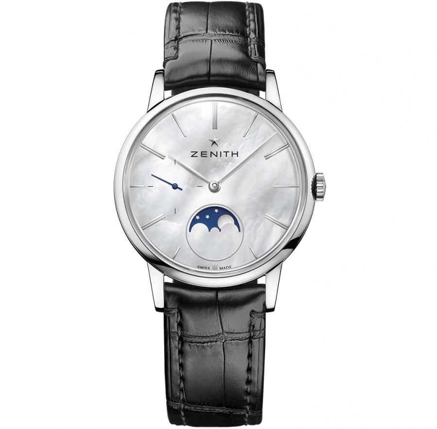 Zenith class elite moonphase men's automatic watch 03.2320.692/80.c714 H0