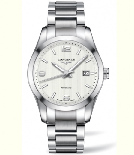 Longines conquest automatic men's watch swiss made H0