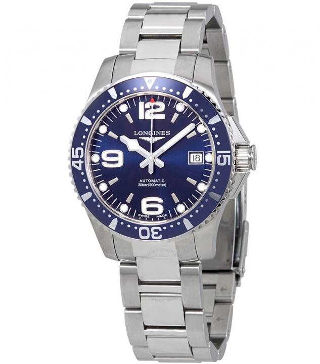 Longines hydroconquest blue stone automatic men's watch H0