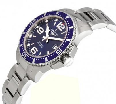 Longines hydroconquest blue stone automatic men's watch H1