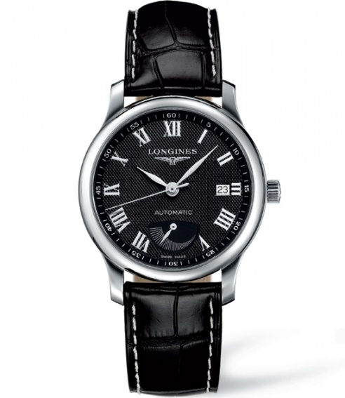 Longines l2.708.4.78.6 master power reserve 38mm watch H0