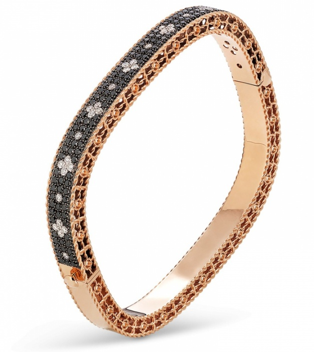 18k rose gold roberto coin venetian princess bracelet H0